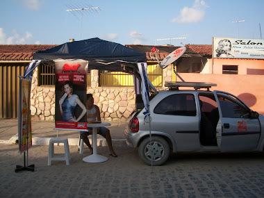 Carro Show da Sky com Painel Solar