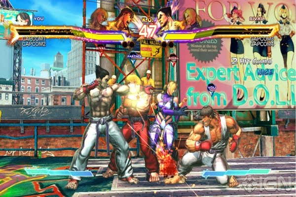 Screen Shot Of Street Fighter X Tekken (2012) Full PC Game Free Download At worldfree4u.com