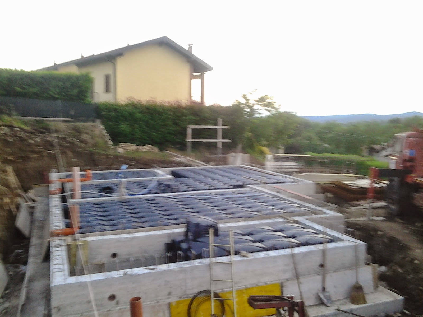 Fasi di costruzione la nostra casa di legno a montonate for Costruire una casa a prezzi accessibili