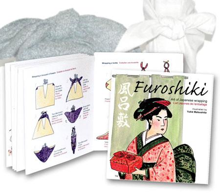 Furoshiki Booklet by Yukié Matsushita