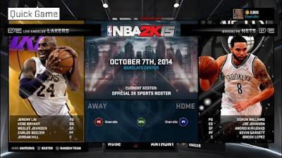 NBA 2K15-RELOADED TERBARU 2015 screenshot 1