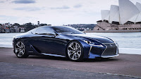 Lexus LF-LC Blue frontside