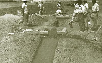 Construcción de un sifón