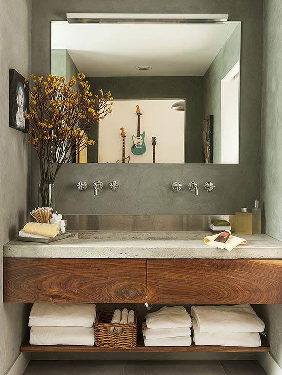 Muebles Para Baño S A De C V Gersa:planos low cost: Muebles de madera en el baño