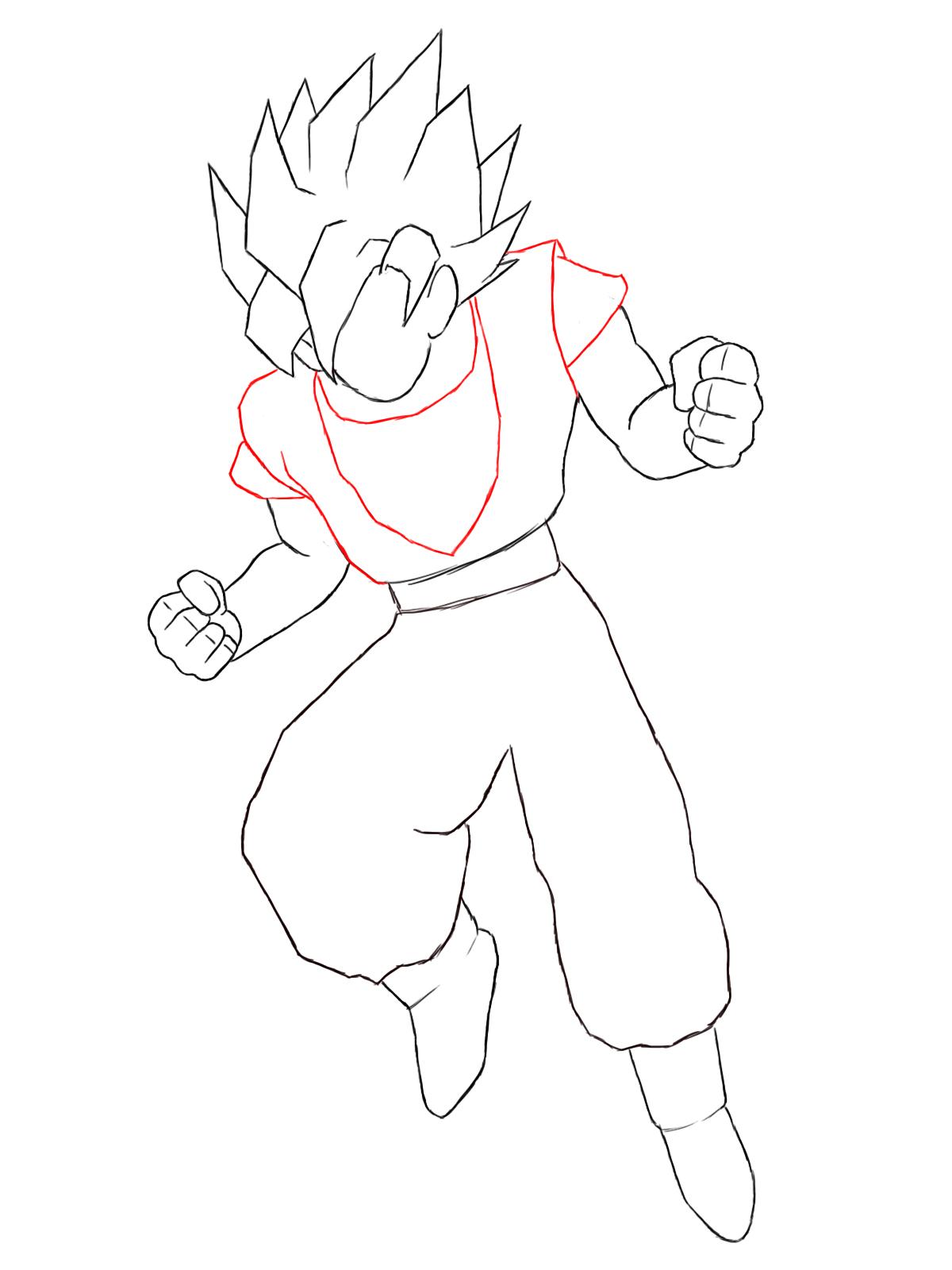 How To Draw Goku Eyes Jpg 1200x1600 Extreme Dbz Drawings