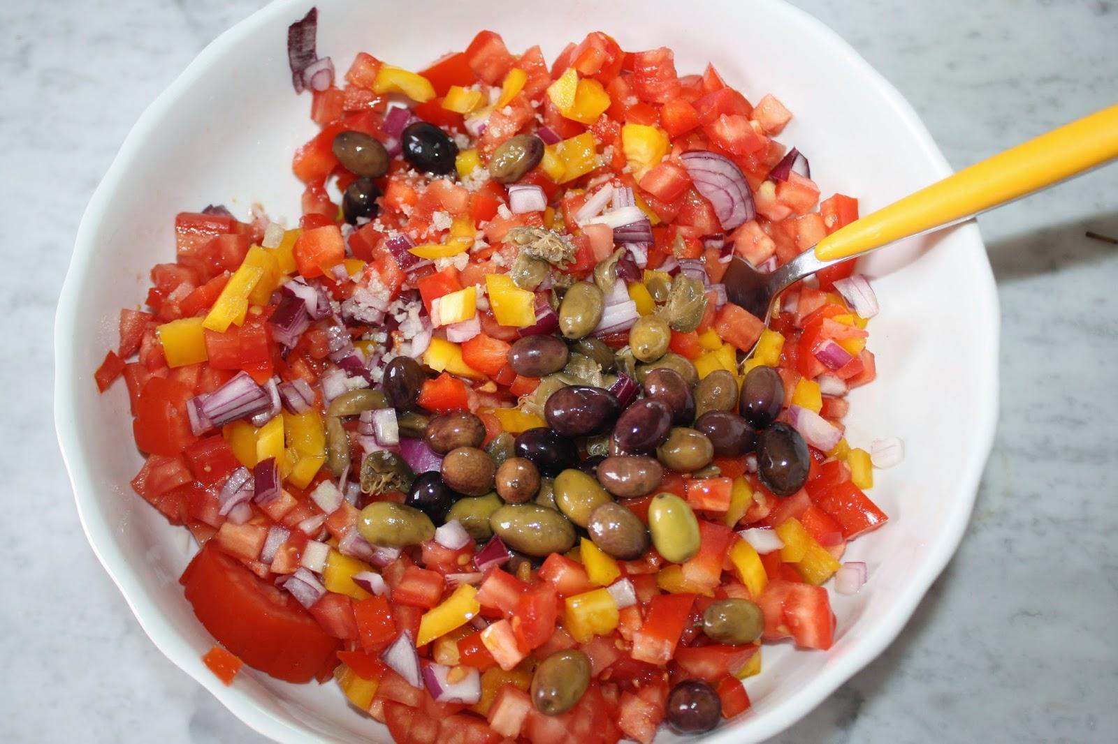ricetta friselle verdure estive