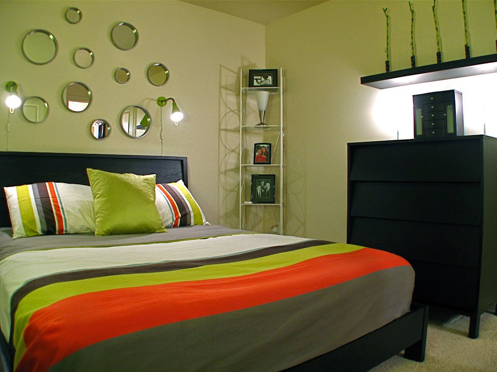 Contemporary Small Bedroom Furniture Decoration