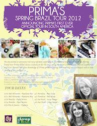 Prima's Brazil Tour, August, 2012