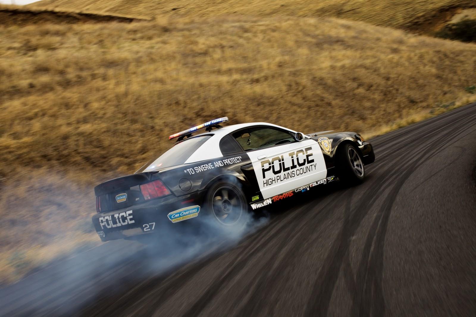 Dan Brockett Motorcycle Vs Car Drift Battle Details On The