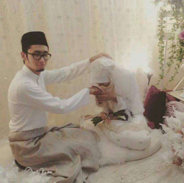 mat luthfi kahwin