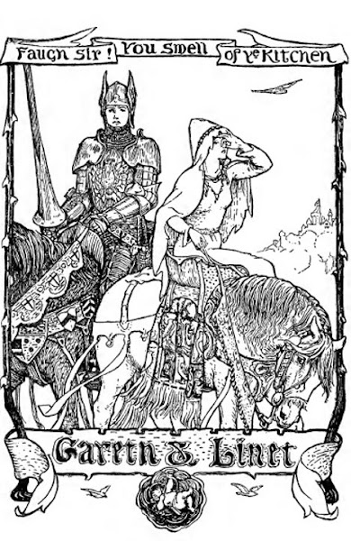 Round Table King Arthur Coloring Pages