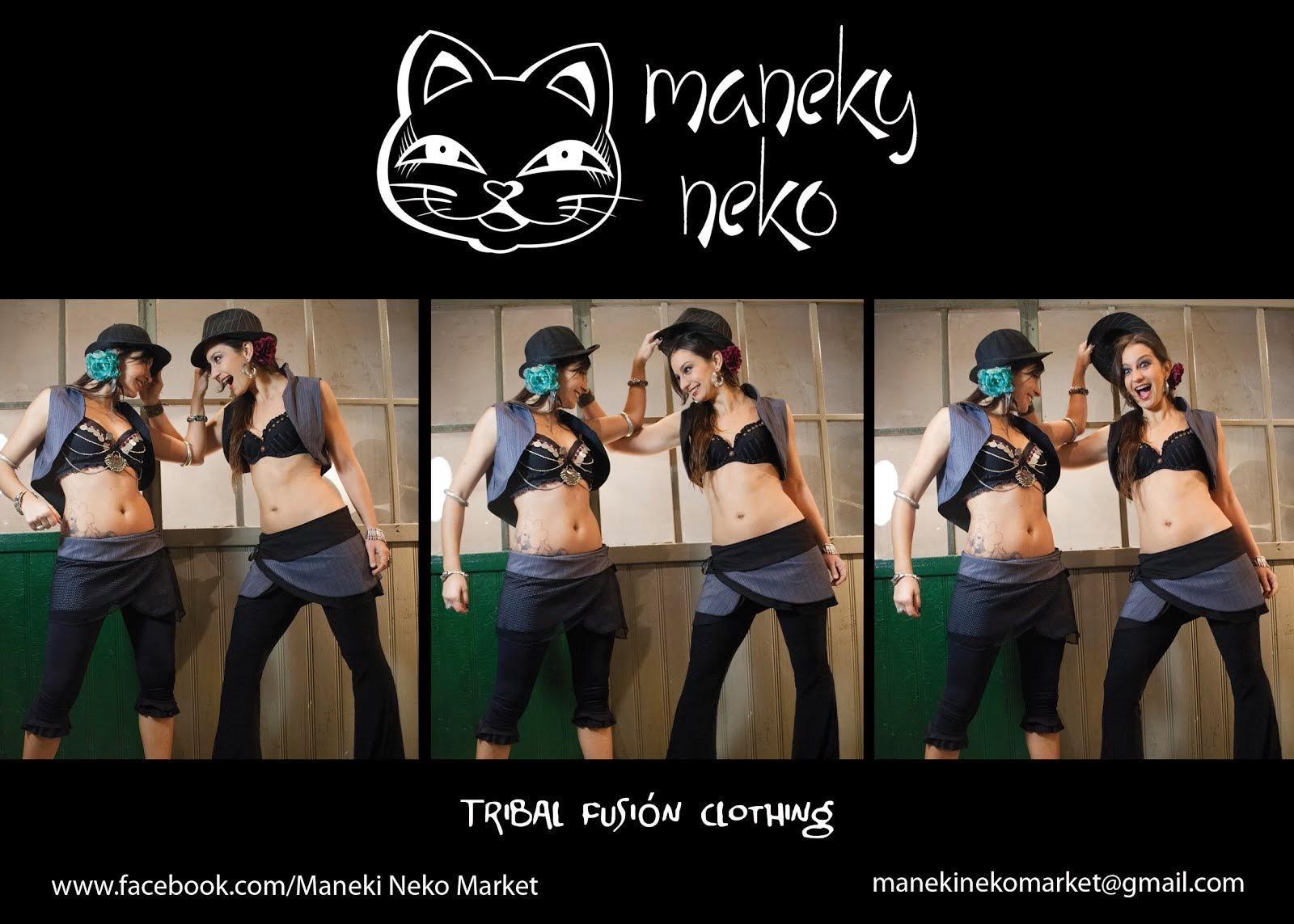 Maneki Neko Tribal Clothing