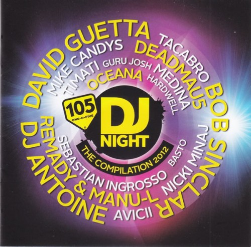 3cff07d73d3320a8e8fd19ff199639bb 105 DJ Night   The Compilation 2012