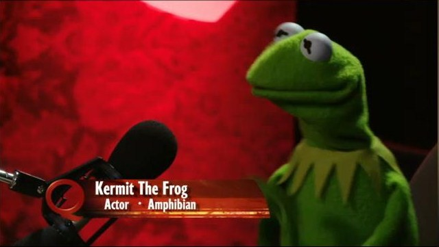 how does kermit the frog talk