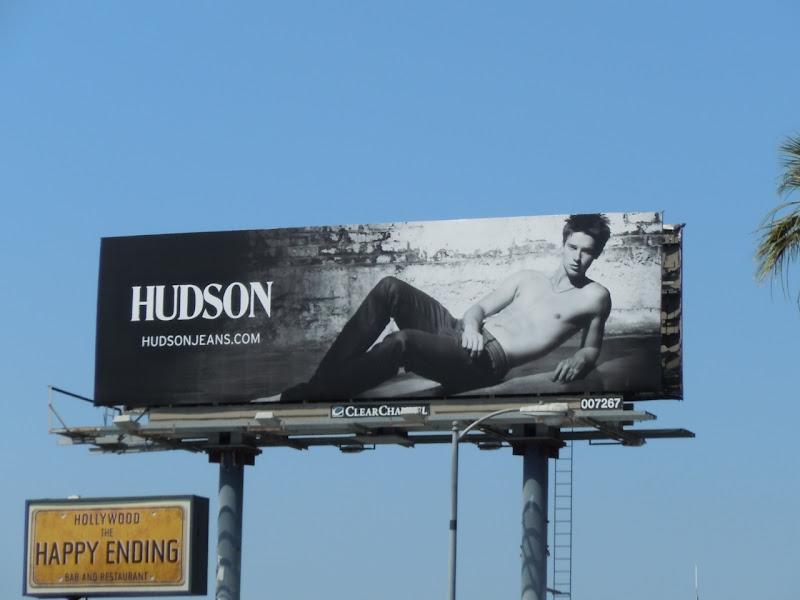 Patrick Schwarzenegger Hudson billboard