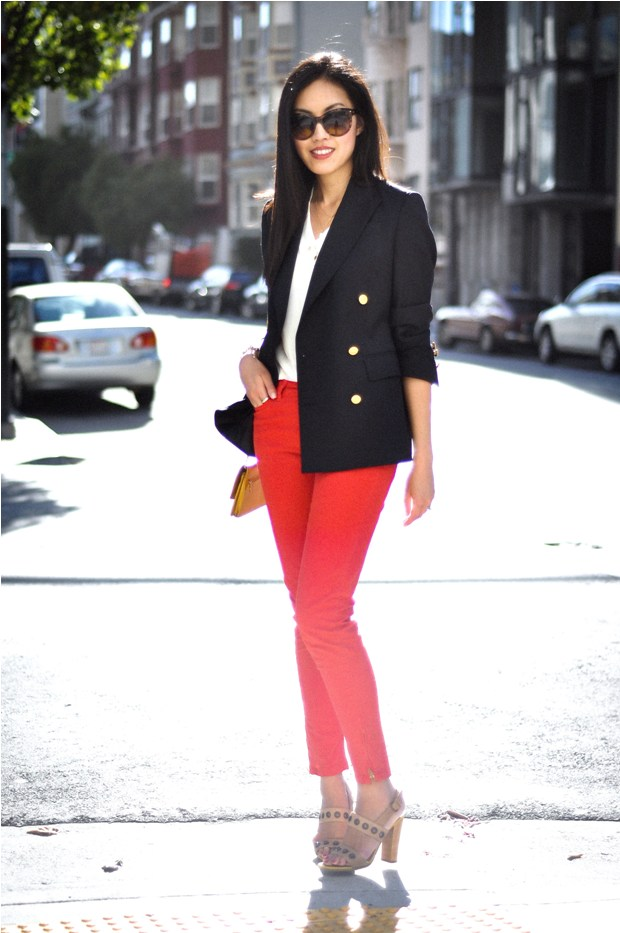 Tingey Tales Fashion Focus Red Pants