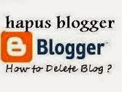 Cara Mudah Menghapus Blog Secara Permanen