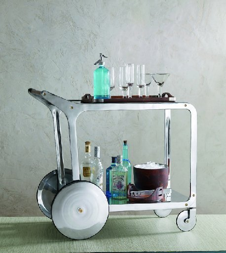 ... Distinguished About A Stocked Bar Cart. I Guess Itu0027s My Association To  The Mad Men 60s Era Where They Invested A Lot Of Time Around The Office Bar  Cart.