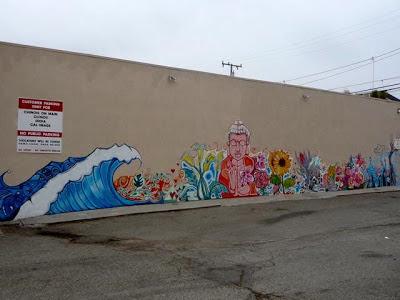 Buddhist street art, graffiti, tagging, Buddhism art
