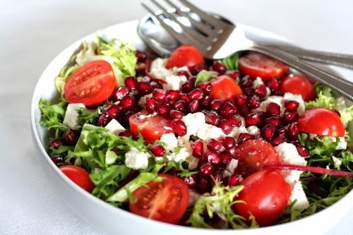 emagreça com a salada detox