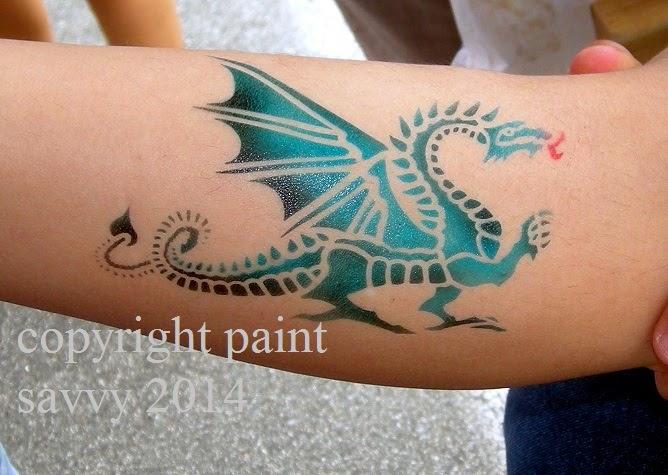 Greensboro airbrush tattoo and temporary tattoos paint for Temporary tattoo airbrush paint