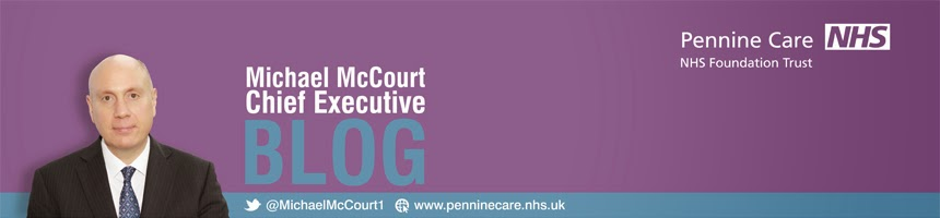 Pennine Care's Chief Executive