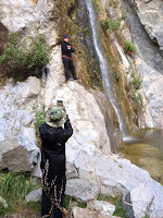 Fish Canyon Falls, Angeles National Forest, December 24, 2015