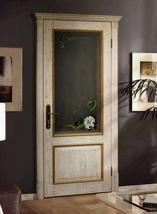 Дверь межкомнатная из Массива сосны без отделки М5