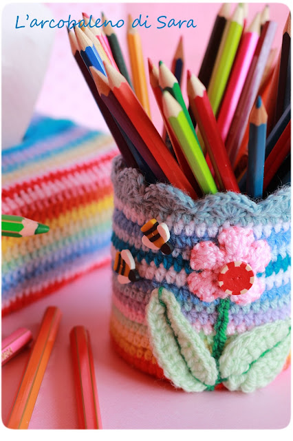 crochet - bottoncini fimo handmade
