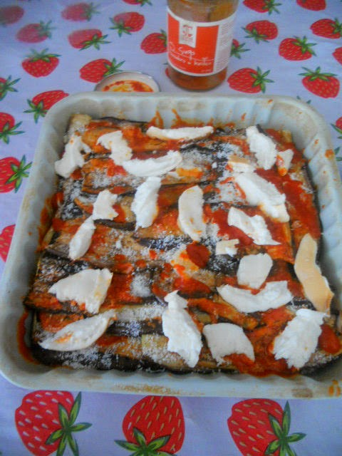 parmigiana di melanzane (arrostite)