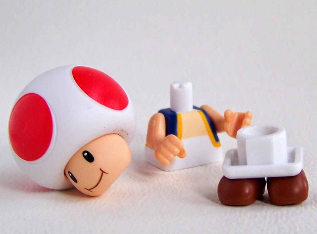 Knex Mario Toad series 3
