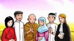 Keberagaman Agama, Kepercayaan dan Ras di Indonesia