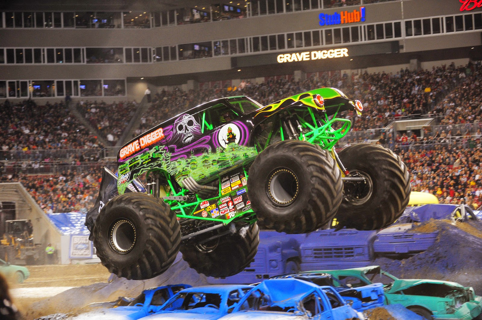 Grave Digger in all his glory.