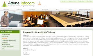 Drupal Training, Drupal development Training, Drupal developer Training