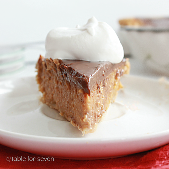 Chocolate Pumpkin Pie • Table for Seven