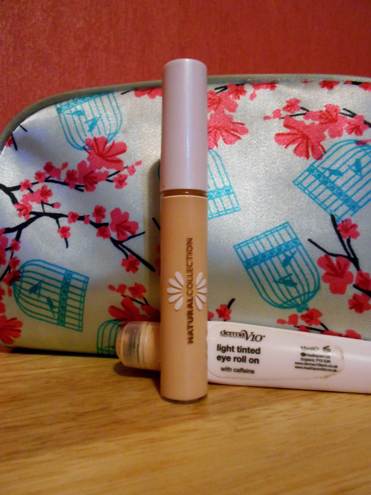 Natural Collection Concealer and Derma V10 Light Tinted Eye Roll On