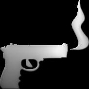Smoking gun clipart