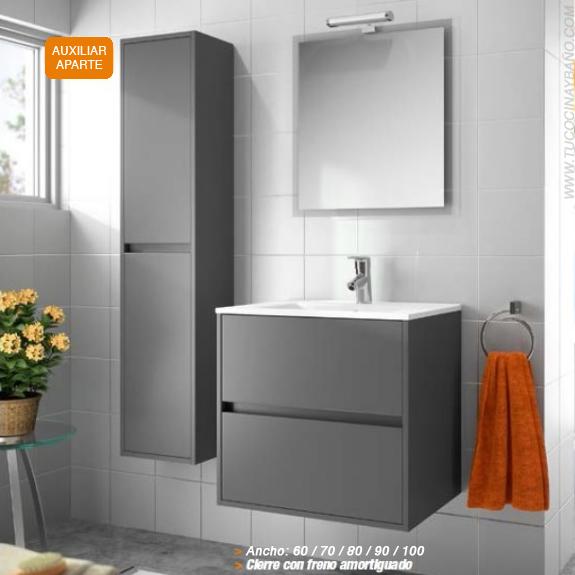 Mueble noja lavabo cristal tu cocina y ba o - Mueble de lavabo barato ...