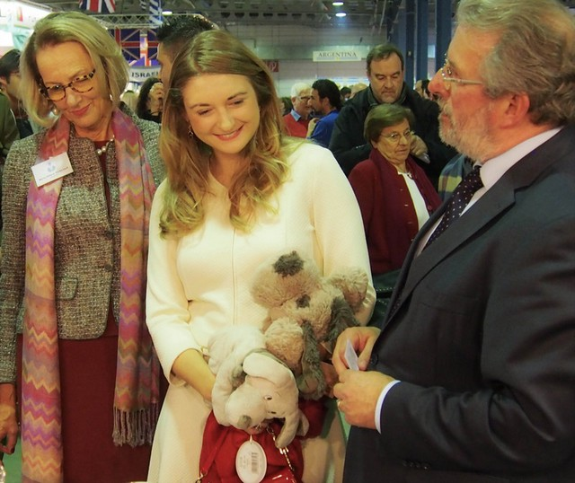 Princess Stephanie and William attended the 54th edition of the International Bazaar