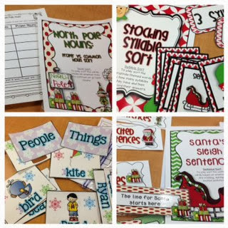 http://www.teacherspayteachers.com/Product/All-I-want-for-Christmas-10-Common-Core-Literacy-Centers-AND-10-Math-Centers-425540