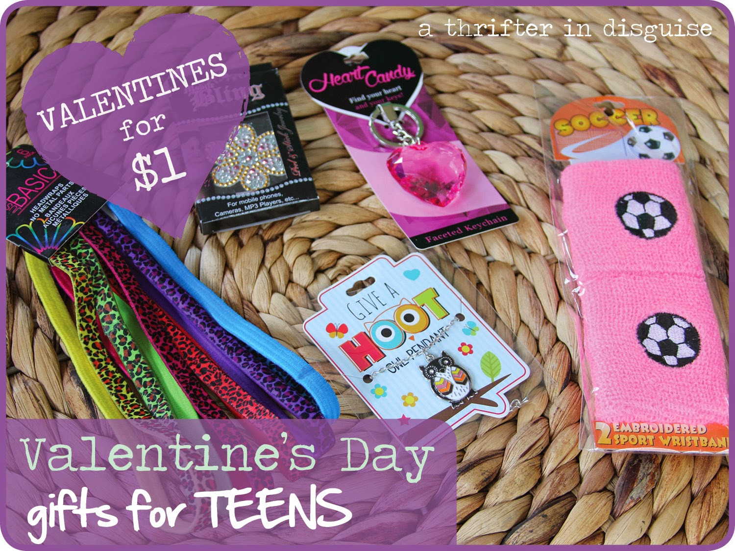 Inexpensive Valentines for Teens