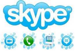Skype – Ligações pela internet
