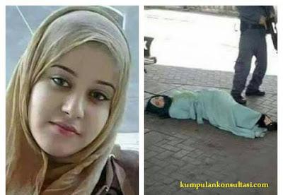 kebiadaban yahudi, muslimah palestina ini wafat mempertahankan hijabnya