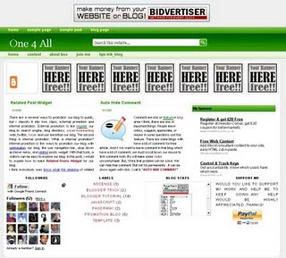 technorati elegant blogger templates