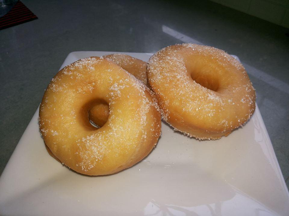 Resepi Donut Besar