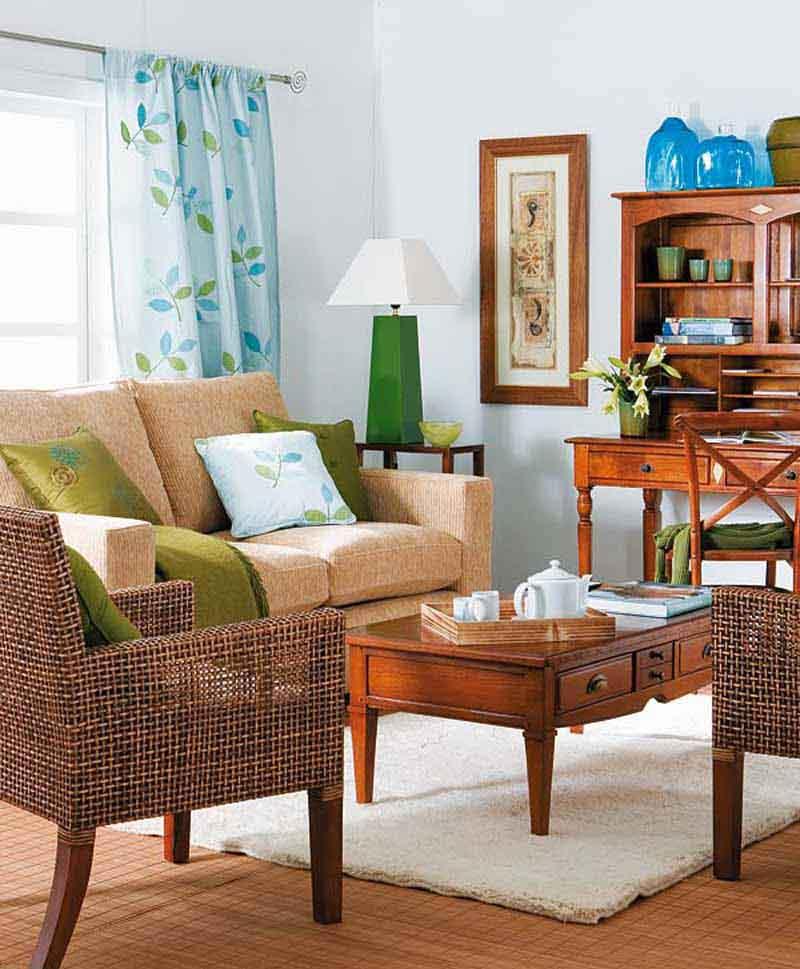 contoh desain ruang tamu kecil minimalist