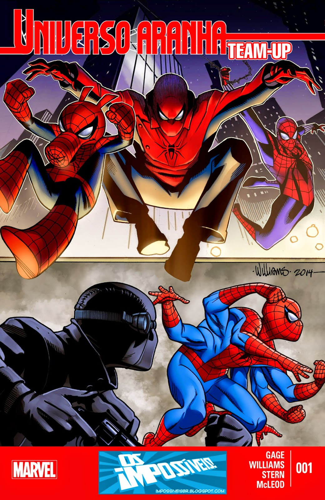 Universo-Aranha Team-Up #1