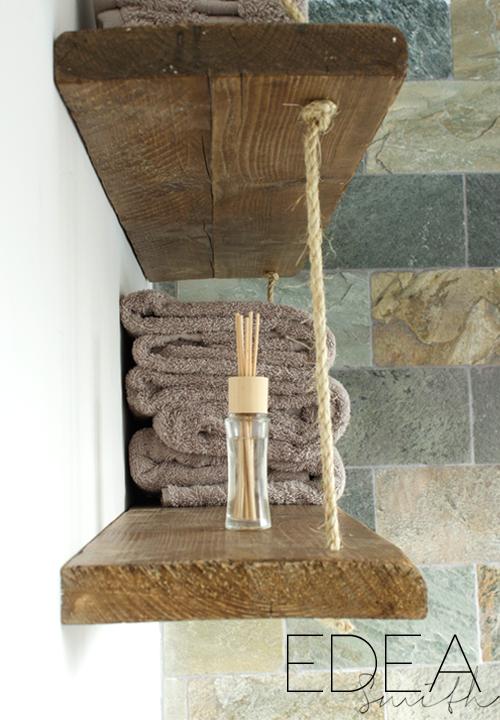 DIY   RECLAIMED WOOD BATHROOM SHELVES. DIY   RECLAIMED WOOD BATHROOM SHELVES   EDEA SMITH