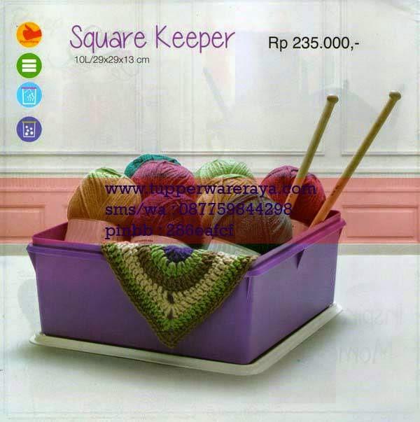 Katalog Tupperware Promo Januari 2015 Square Keeper