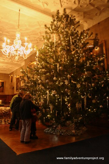 Christmas Tree Holker Hall